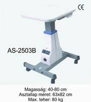 as-2503b  motoros asztal