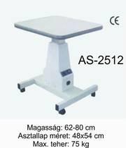 as-2512 motoros asztal