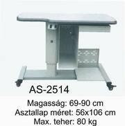 as-2514 motoros asztal