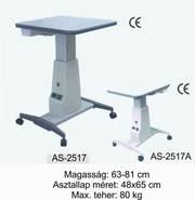 as-2517 motoros asztal