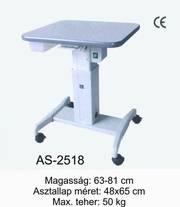 as-2518 motoros asztal