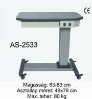 as-2533 motoros asztal