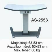 as-2558 motoros asztal