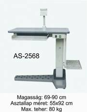 as-2568 motoros asztal