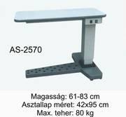 as-2570 motoros asztal